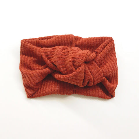 Classic Turban- Burnt Orange