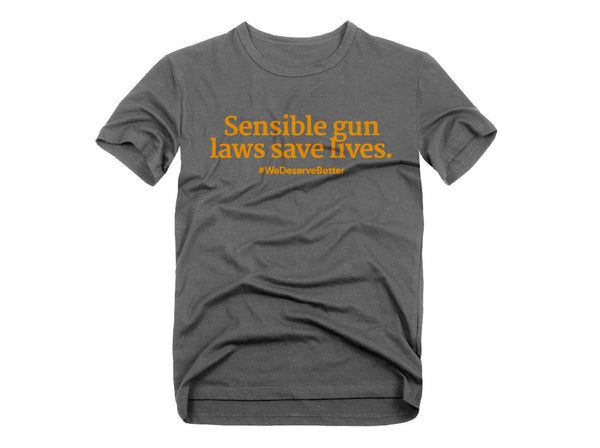 Sensible Gun Laws Tee
