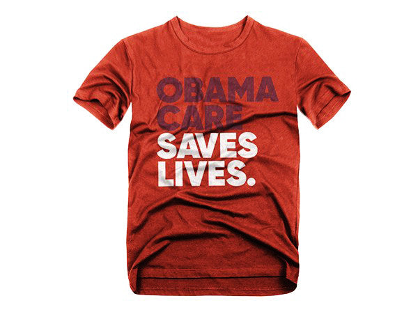 Obamacare Saves Lives Tee