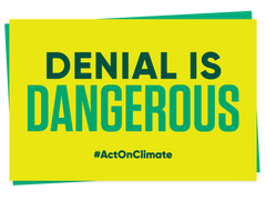 Act on Climate Placards