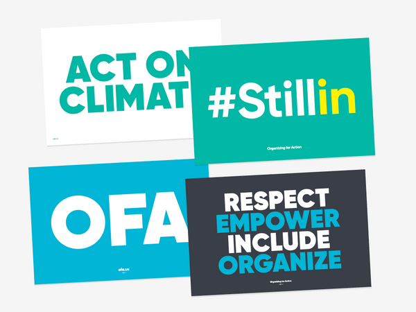 #Stillin Climate Rally Pack