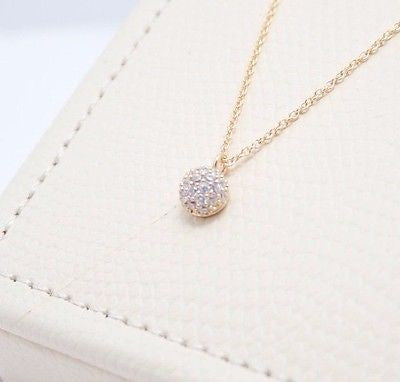 Califul: Elegant Jewel Pendant Necklace - Gold or Silver