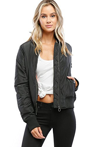 Califul Bomber Jacket Utility Short Vintage Coat