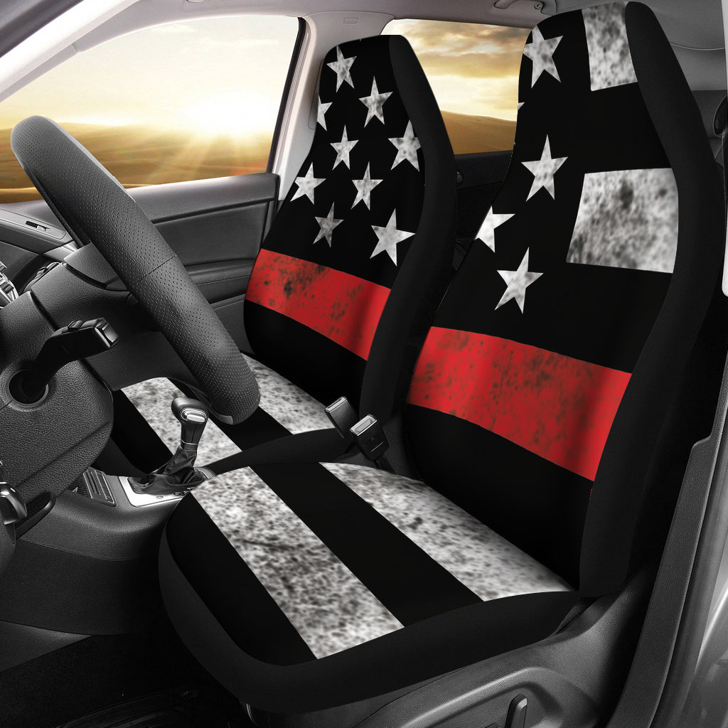Thin Red Line Seat Covers Set Of 2
