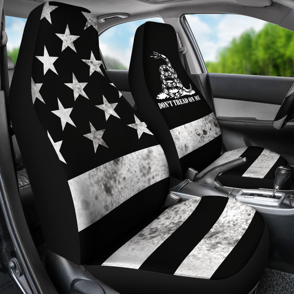 Dont Tread On Me Car Seat Covers Set Of
