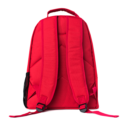 Red Artist Project Backpack