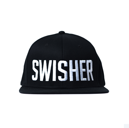 Black SWISHER Snapback
