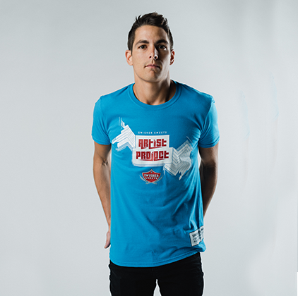 Blue Artist Project Tee