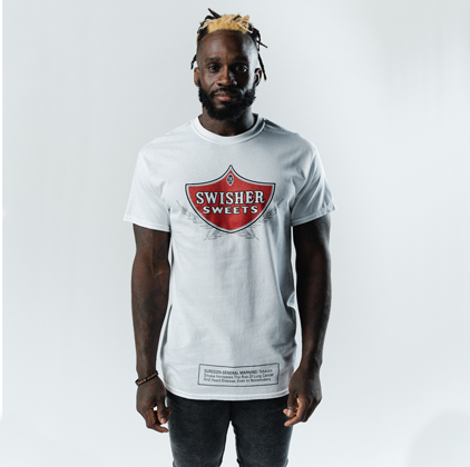Swisher Sweets Shield White T-Shirt