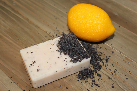Sweet Lemon & Poppy Seed Soap