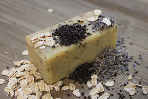 Lavender & Orange Scrub Soap