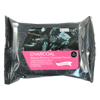 Charcoal Makeup Wipes - colornoir