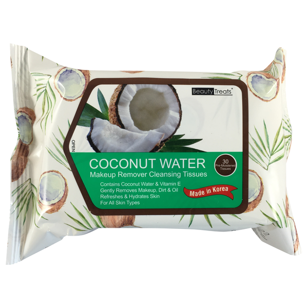 Coconut Water Makeup Wipes - colornoir