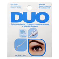 DUO White/Clear Eyelash Adhesive - colornoir