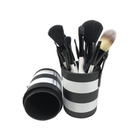 SET 221 - BLACK, WHITE & PEARL TRAVEL SET - colornoir