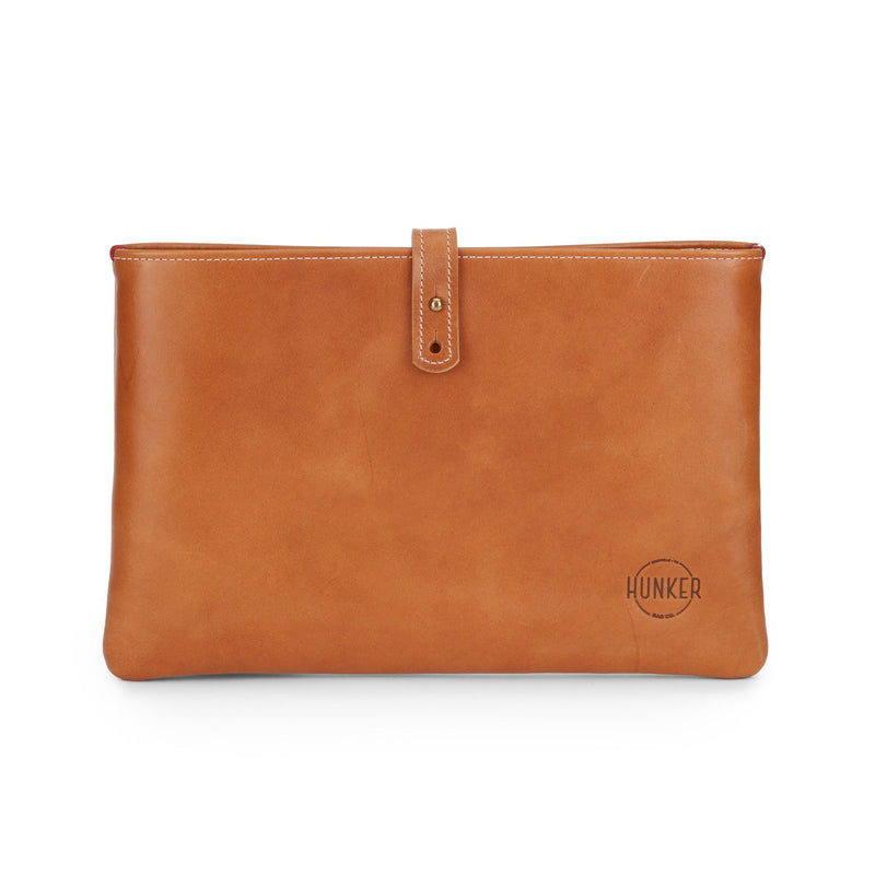 Hunker Bag Co: Horween leather portfolio/laptop bag
