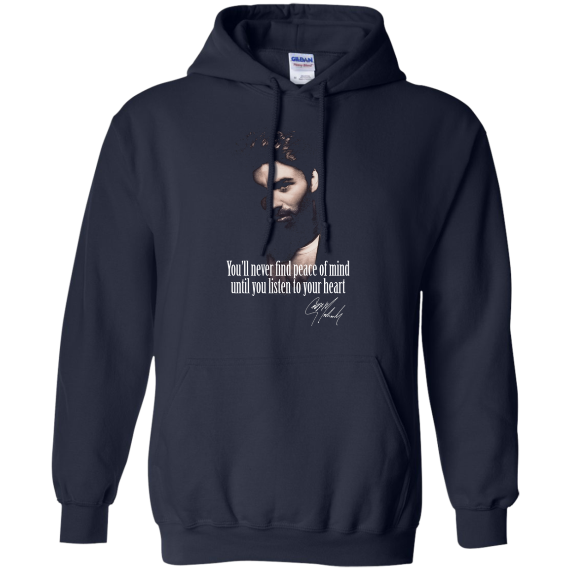 George Michael Peace Of Mind T shirts Hoodies - Blue Fox