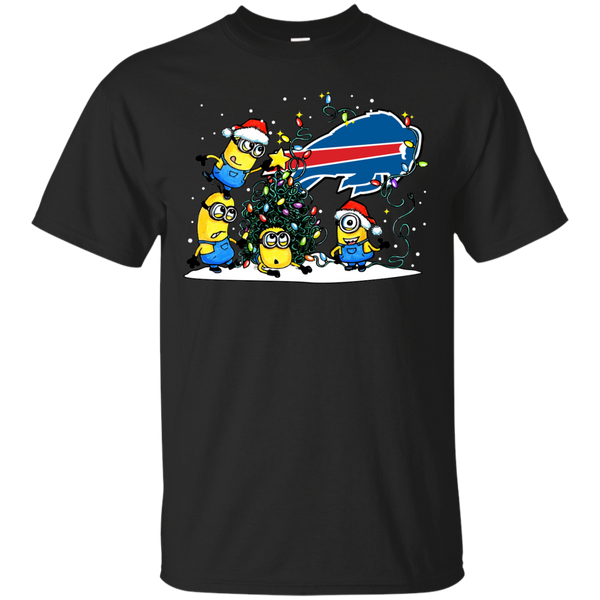 Buffalo Bills Minions Shirts Merry Christmas T-Shirts Hoodies Sweatshirts