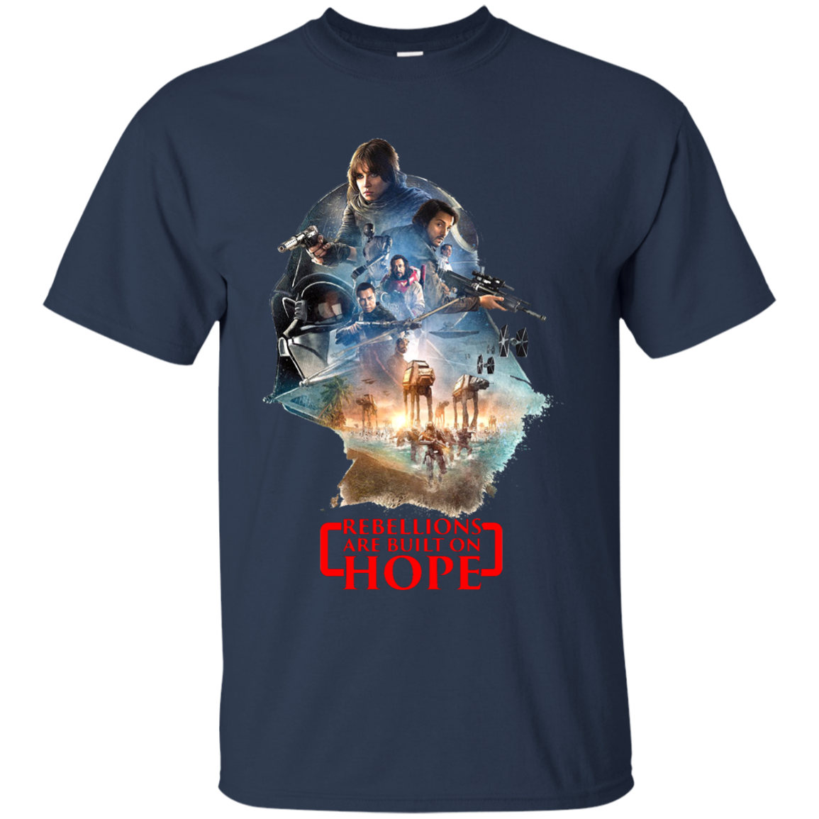 Star Wars Cool Rogue One T shirts And Hoodies - Blue Fox