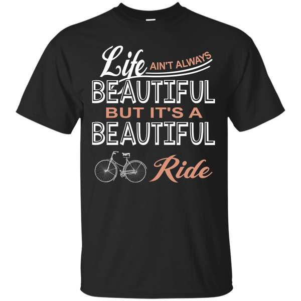 Cycling T-Shirts Hoodies Life Is A Beautiful Ride - Blue Fox