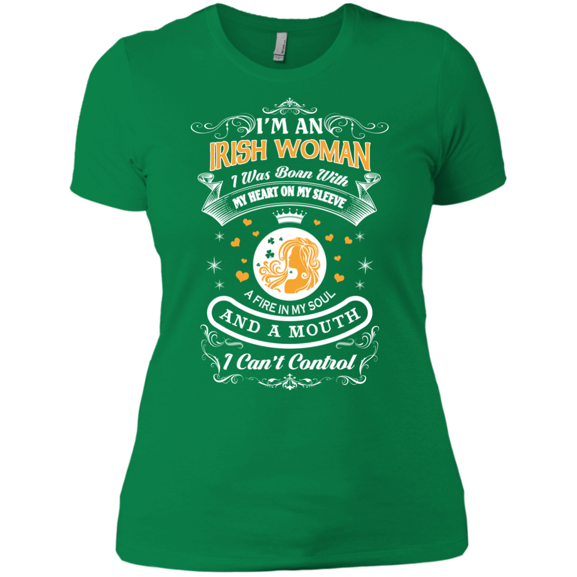 Irish Woman St Patrick's Day St Patricks Day Shirt Hoodies Clothing For Women
