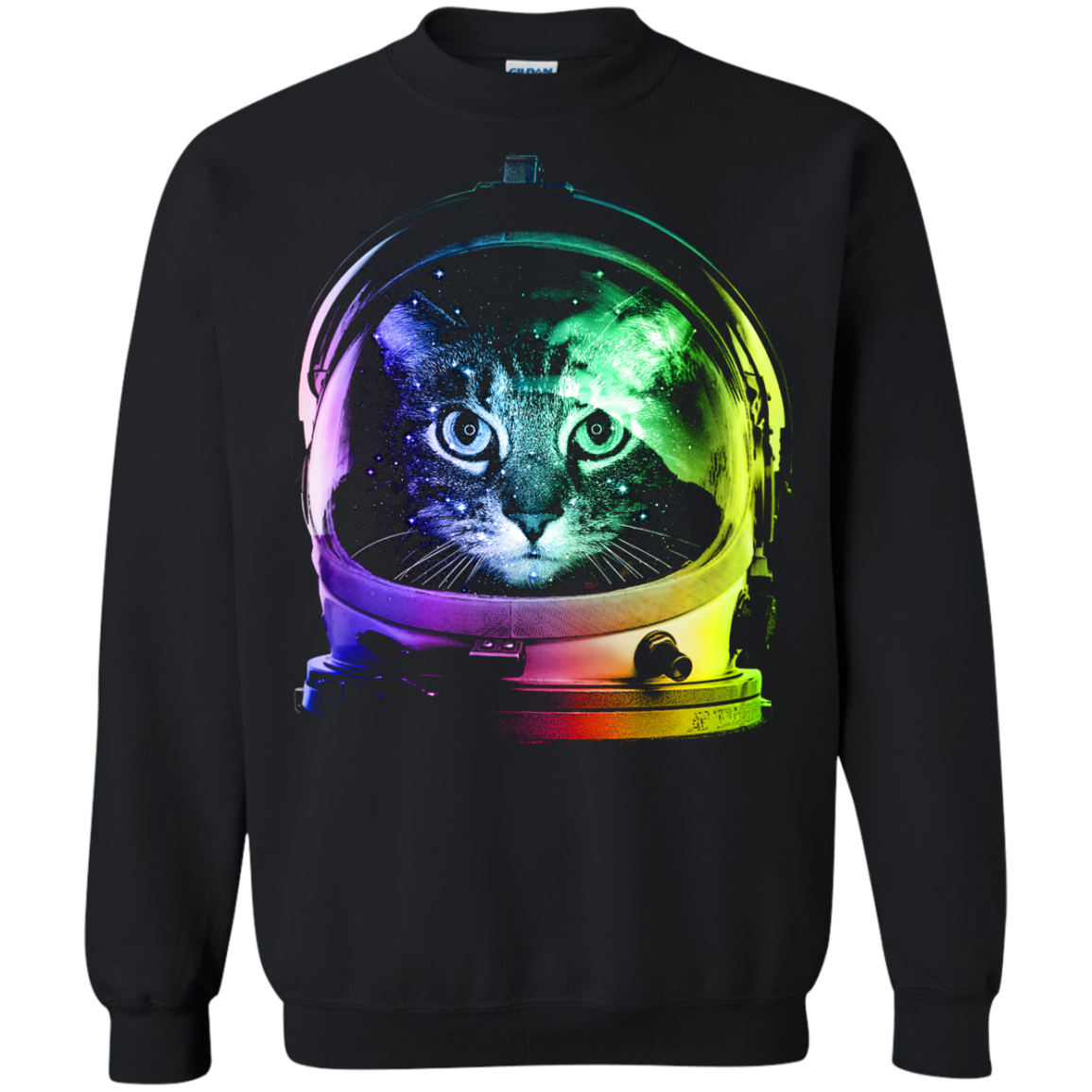 Cat Astronaut Cool Cat T shirts Hoodies Gifts For Cat Lovers - Blue Fox