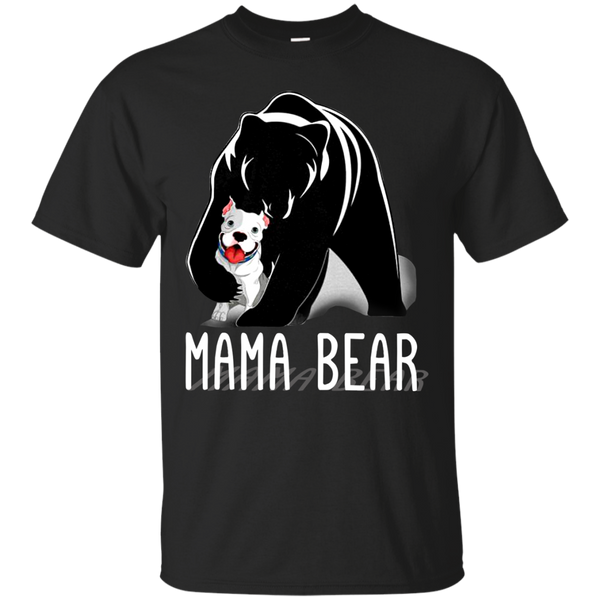 Mother's Day Shirts Mama Bear Dog Pitbull T shirts Hoodies Sweatshirts