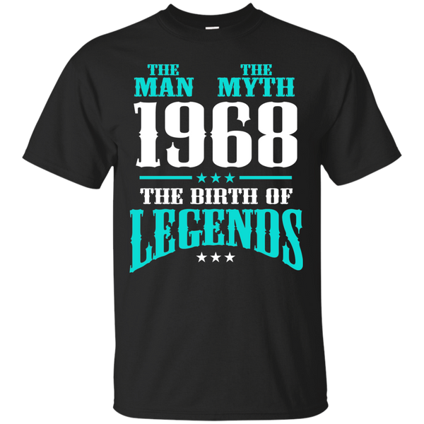 1968 Shirts The Man The Myth The Birth of Legends T-shirts Hoodies Sweatshirts - Blue Fox