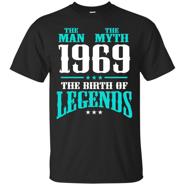 1969 Shirts The Man The Myth The Birth of Legends T-shirts Hoodies Sweatshirts - Blue Fox