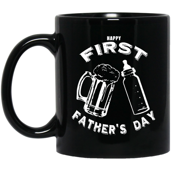 Father's Day Mug Happy First Father's Day Coffee Mug Tea Mug