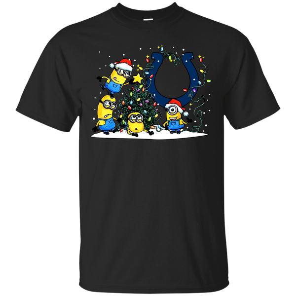 Indianapolis Colts Minions Shirts Merry Christmas T-Shirts Hoodies Sweatshirts