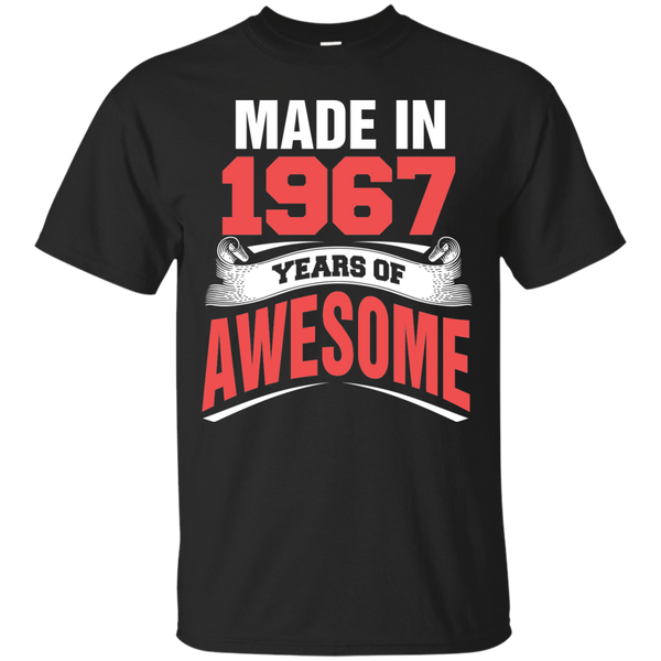 1967 Shirts Made in 1967 Year of Awesome T-shirts Hoodies Sweatshirts - Blue Fox