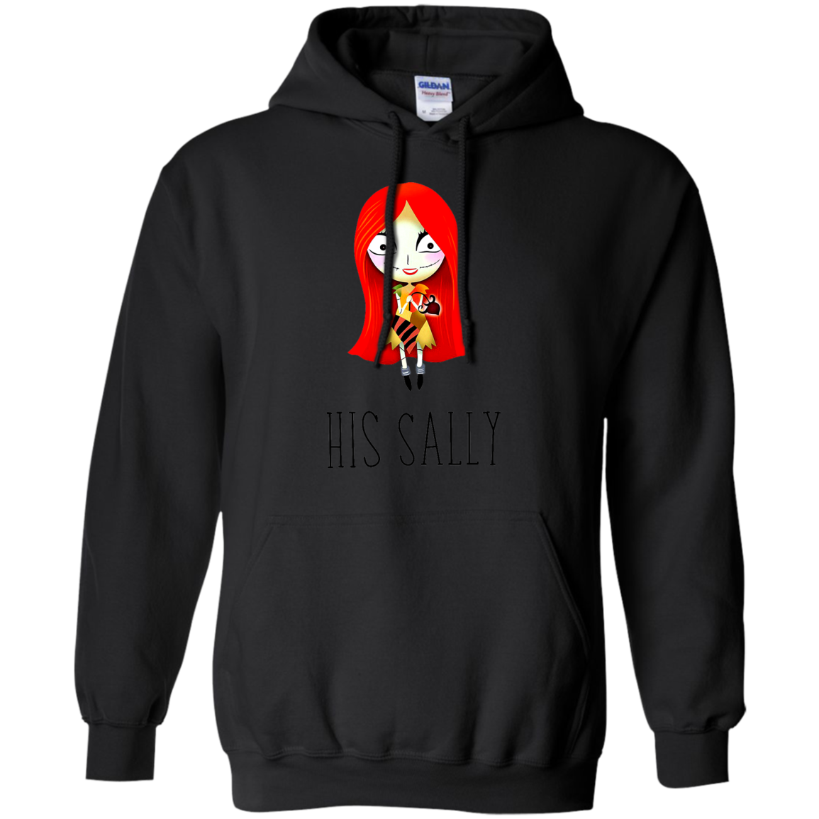 His Sally Nightmare Before Christmas T shirt And Hoodies