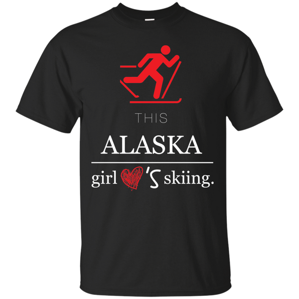 This girl - alaska skiing - Blue Fox