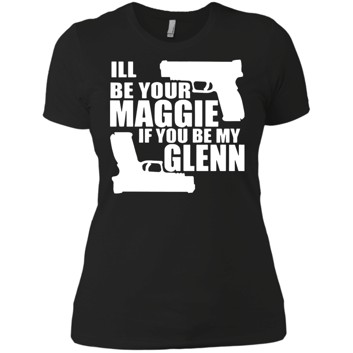 Maggie And Glenn The Walking Dead T shirt Hoodies Walking Dead Clothing T shirts And Merchandise