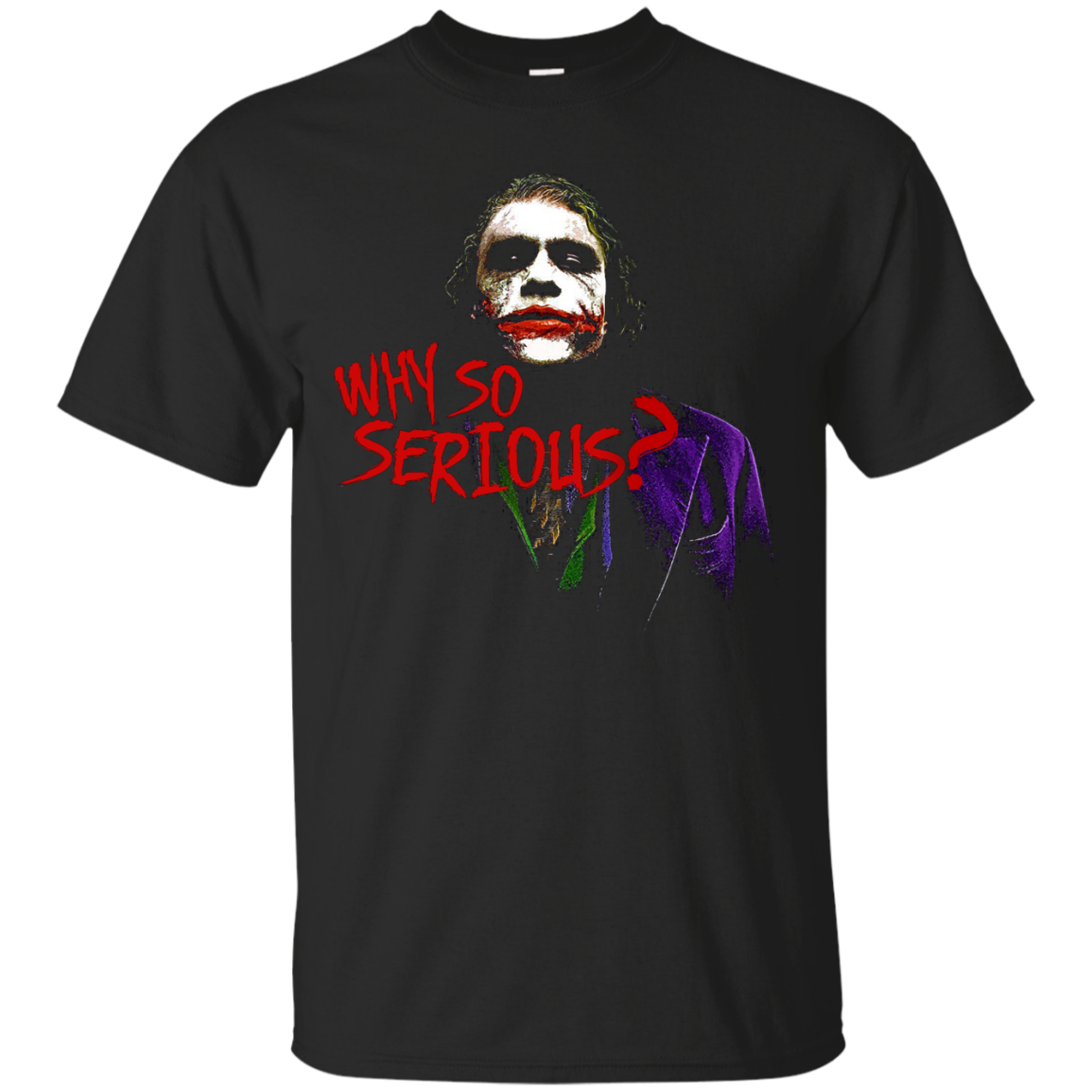 Why So Serious Joker Batman T shirts Hoodies