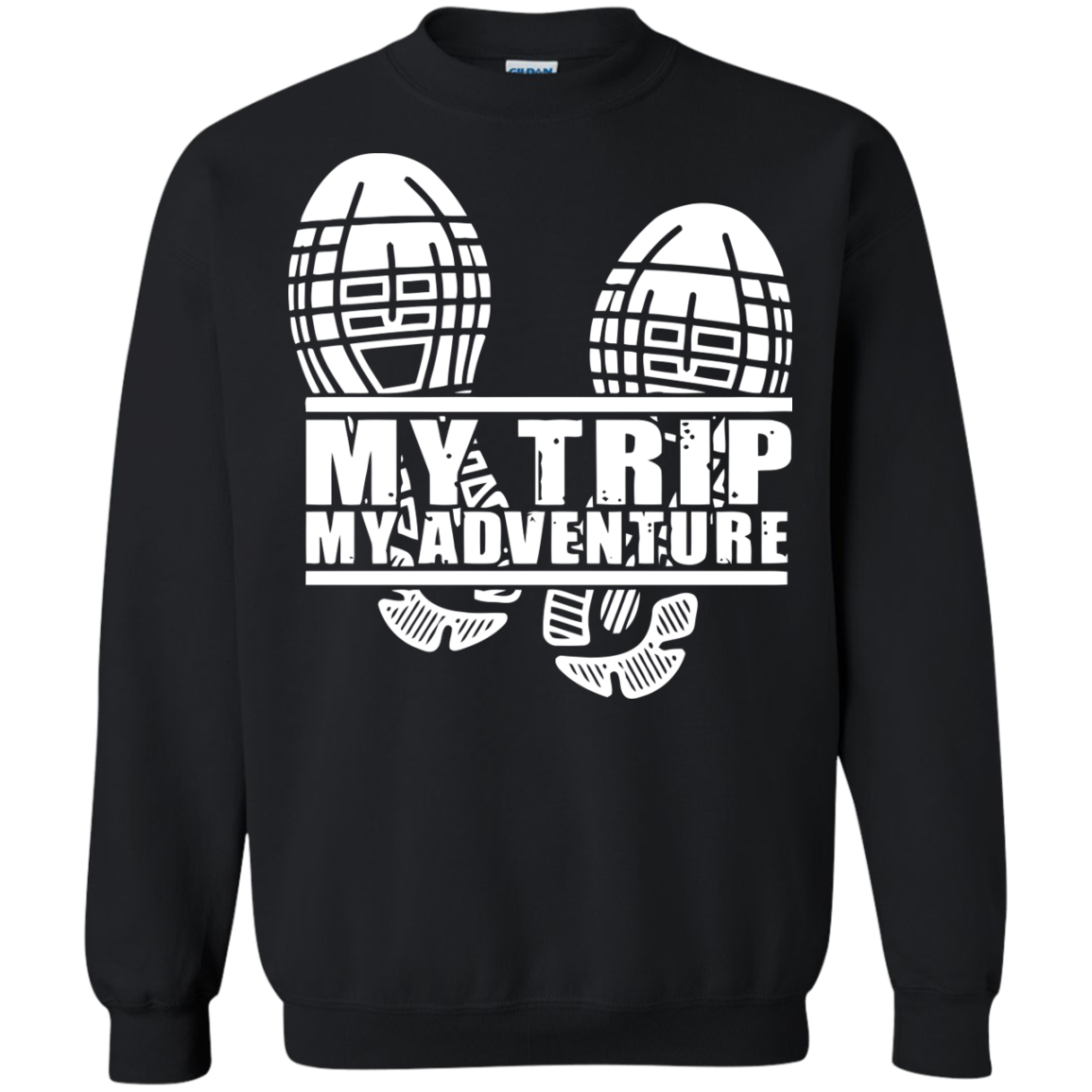 Adventure T-Shirts Hoodies My Trip. My Adventure - Blue Fox