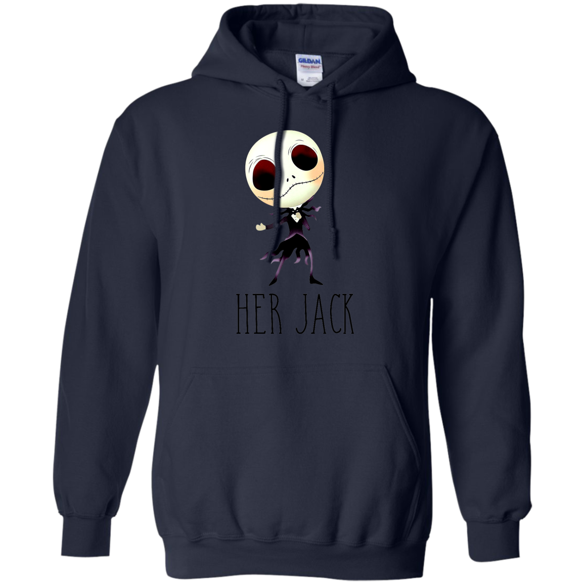 Her Jack Skellington Nightmare Before Christmas T shirts And Hoodies