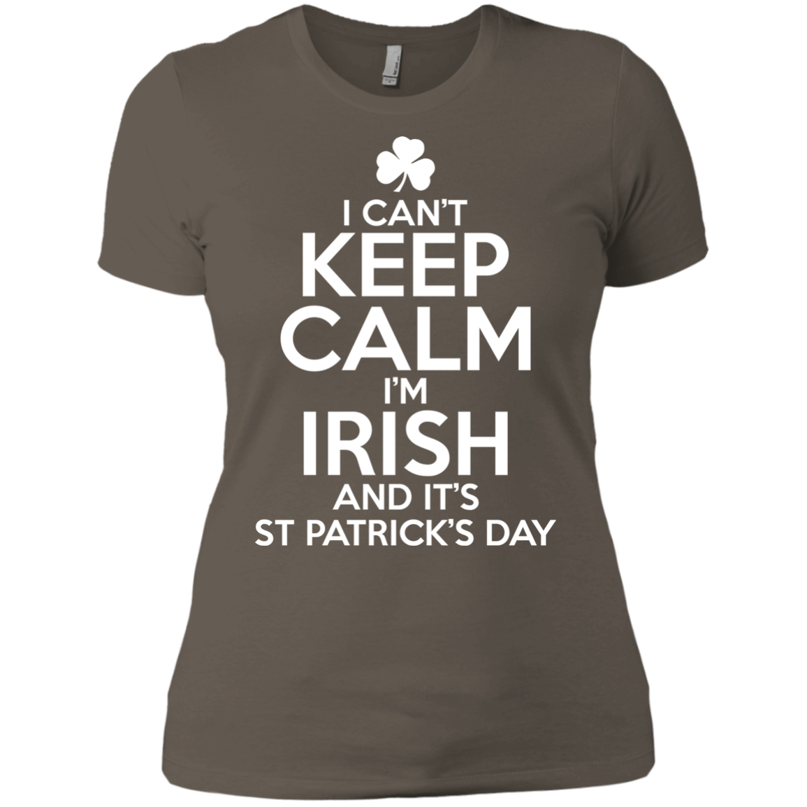 I Can't Keep Calm St Patrick Day Clothing St Patrick's Day Shirts Hoodies
