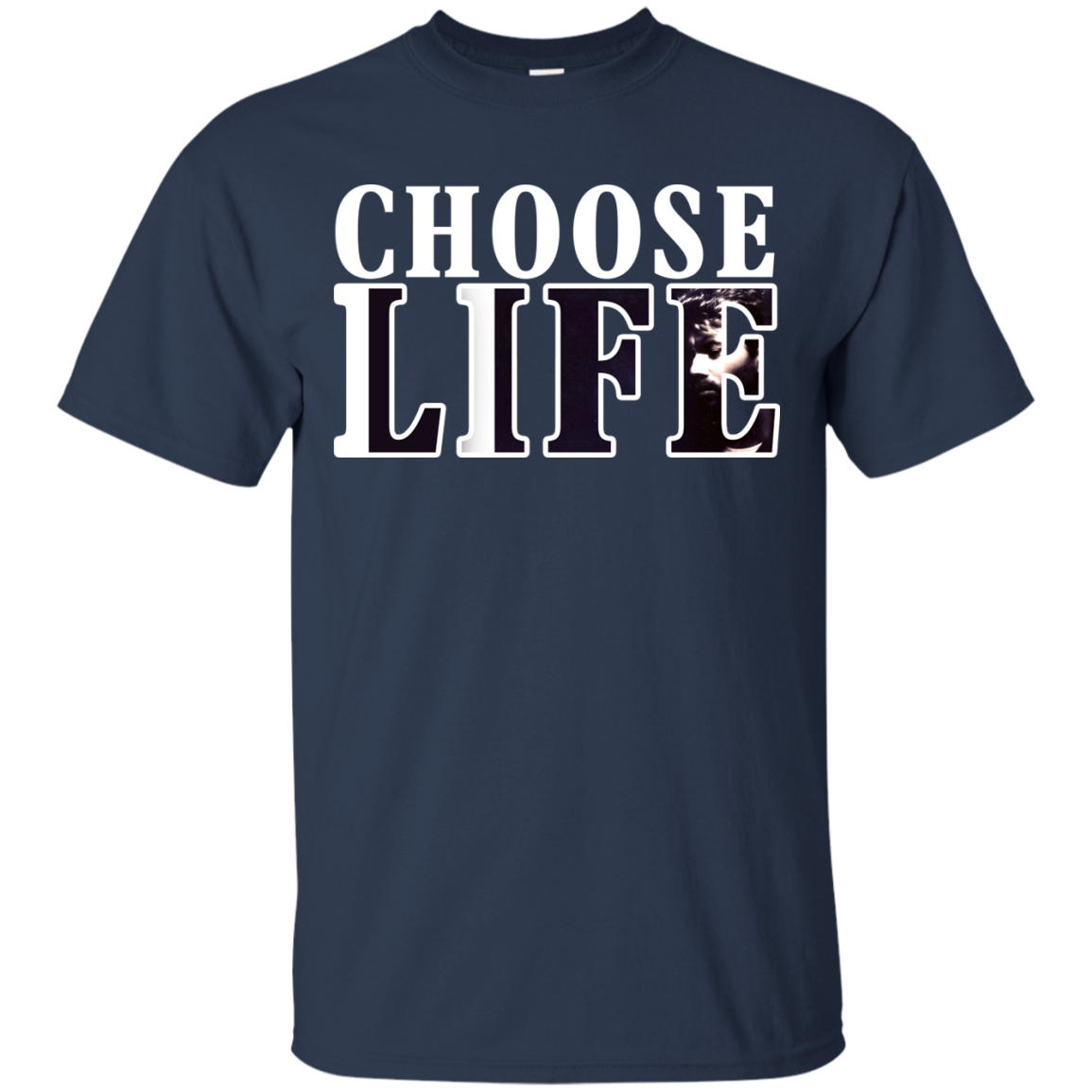 George Michael Choose Life T shirts Hoodies - Blue Fox