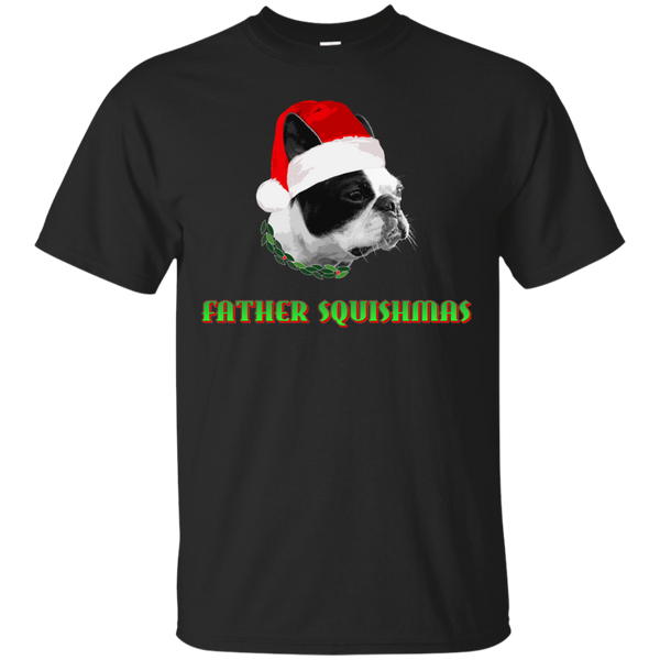 -Dog Father Christmas Shirts Father Squishmas T-shirts Hoodies Sweatshirts - Blue Fox