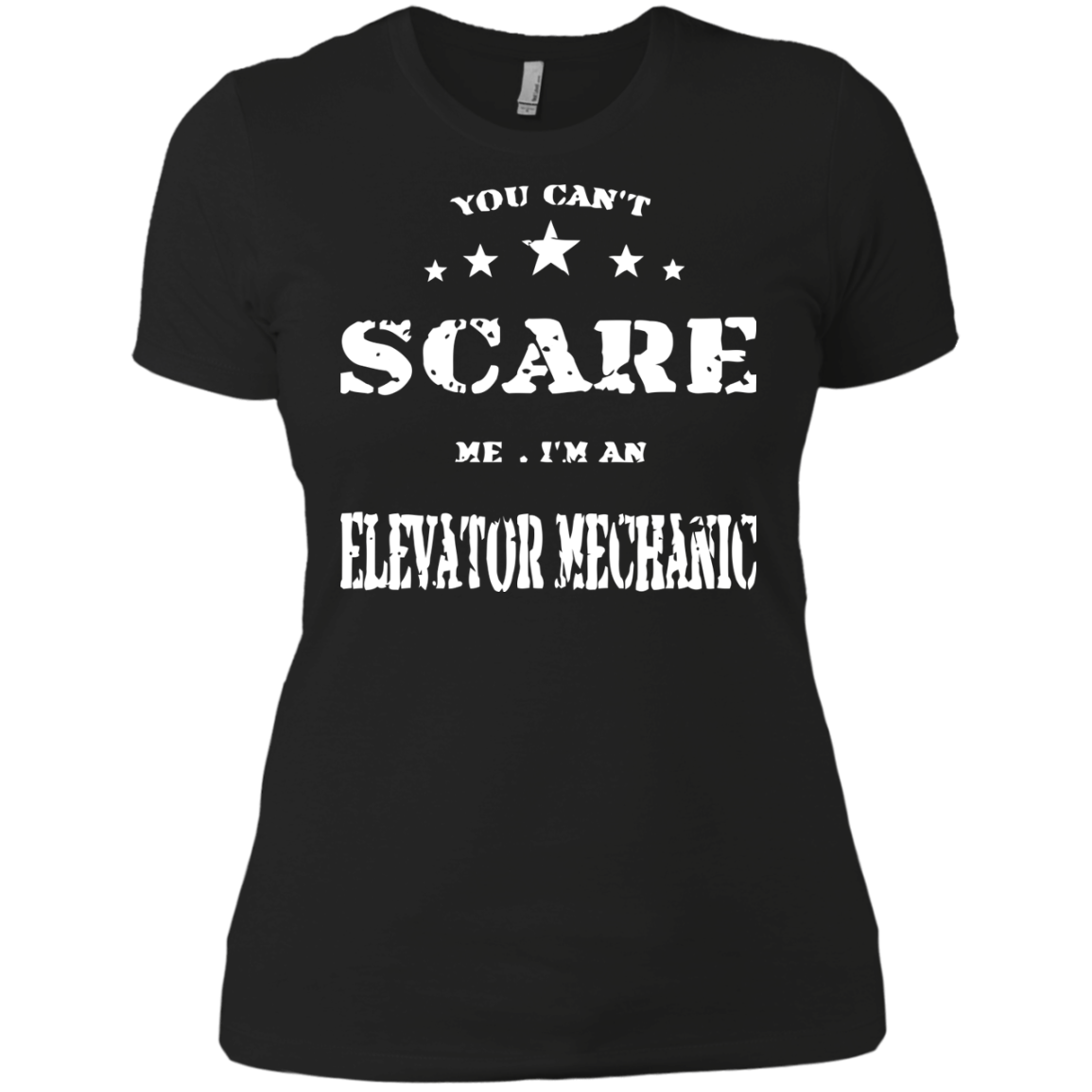 Elevator Mechanic T-Shirts Hoodies You Can't Scare MeT-Shirts Hoodies I Am Elevator Mechanic - Blue Fox