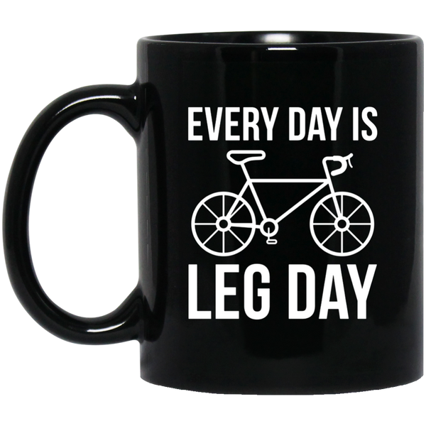 Father's Day Mug Every Day Is Leg Day Coffee Mug Tea Mug