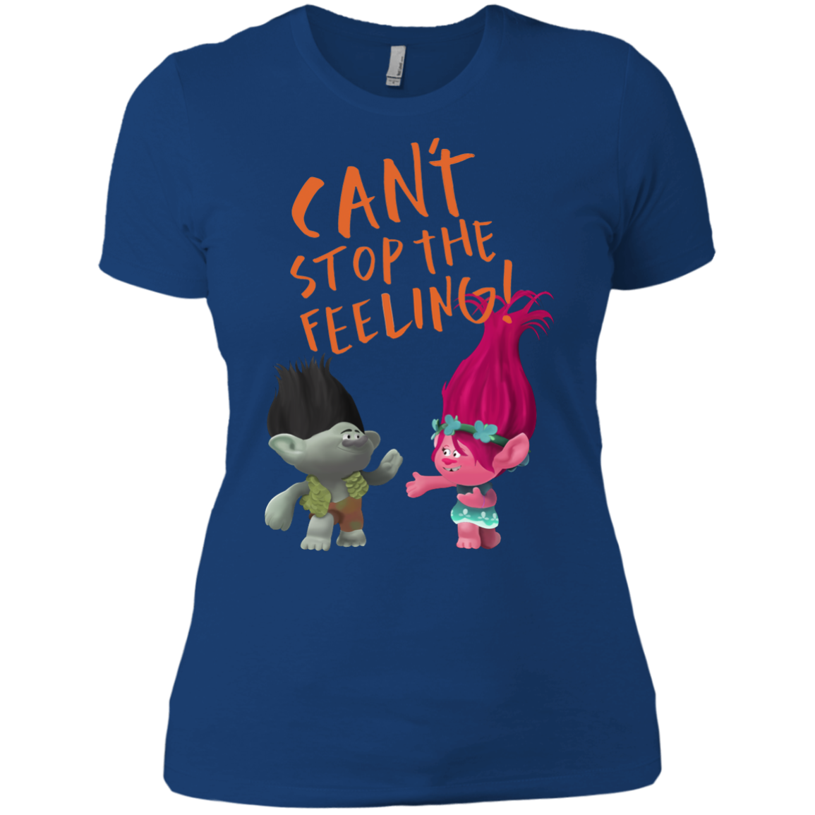 Troll Can't Stop The Feeling T shirts Hoodies - Blue Fox