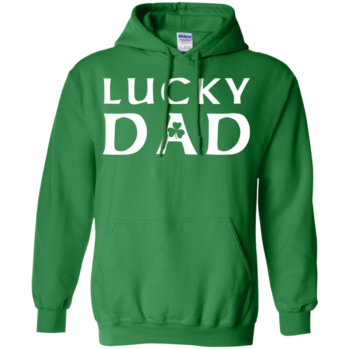 Irish Lucky Dad St Patricks Day St Patrick's Day Shirts For Men Irish Clothing - Blue Fox