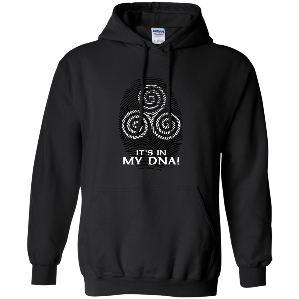 Irish Celtic Spiral DNA St Patricks Day Clothing St Patrick's Day Shirts Hoodies For Women And Men - Blue Fox