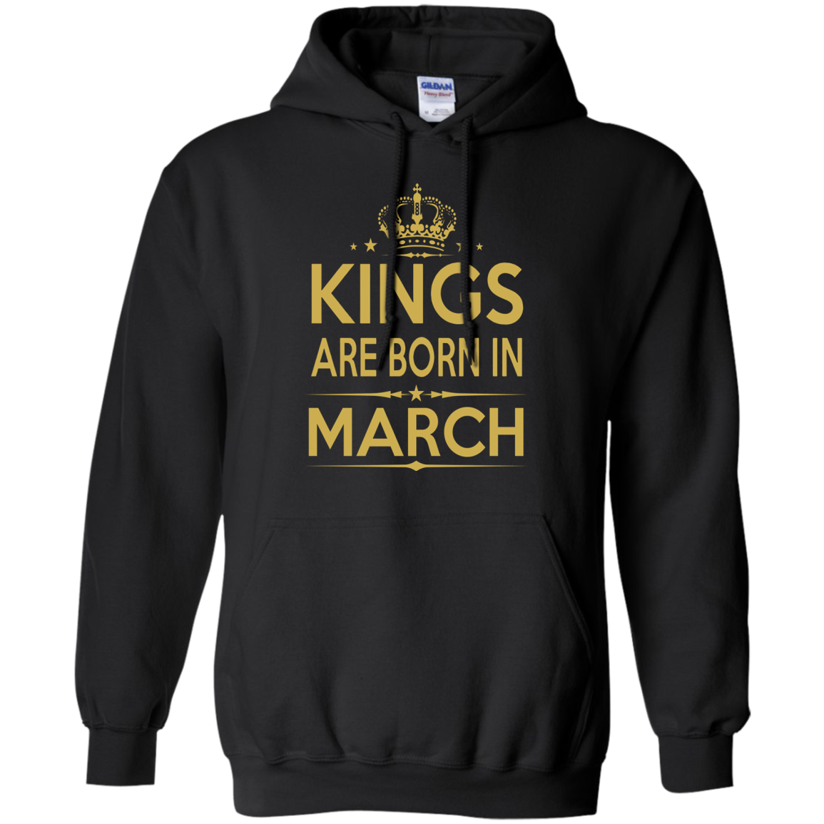 Kings Are Born In March Birthday T Shirts Hoodies