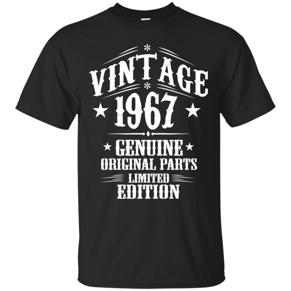 1967 Shirts Vintage 1968 Genuine Original Limited Edition T-shirts Hoodies Sweatshirts - Blue Fox