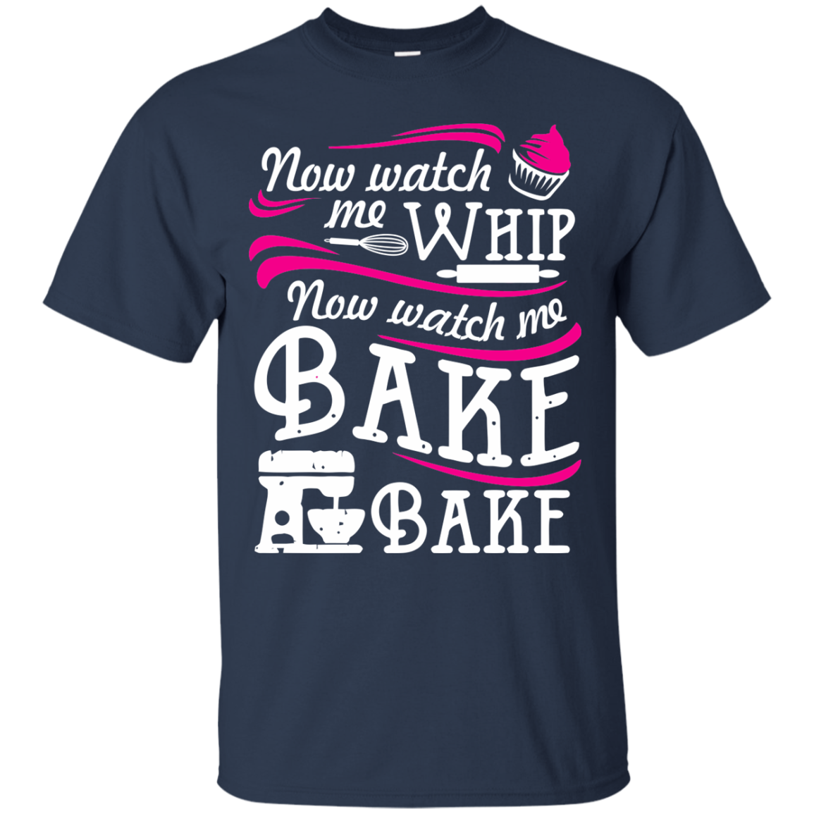 Baking T-Shirts Hoodies now watch me bake bake - Blue Fox
