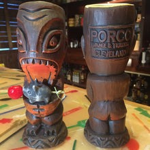 Porco Lounge Tiki Mug 1st Edition Red Glaze (Shipped)